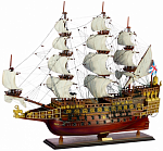 "Линкор ""Повелитель морей"" (Sovereign of the Seas, Англия, 1637г.))"